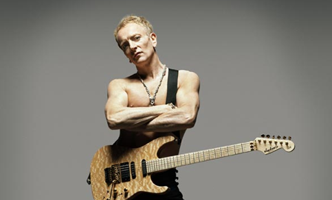 Guitarist for Def Leppard, Phil Collen stops by the show to talk about