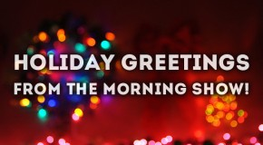 Holiday Greetings From The Morning Show!